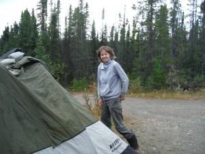 Kristin camping