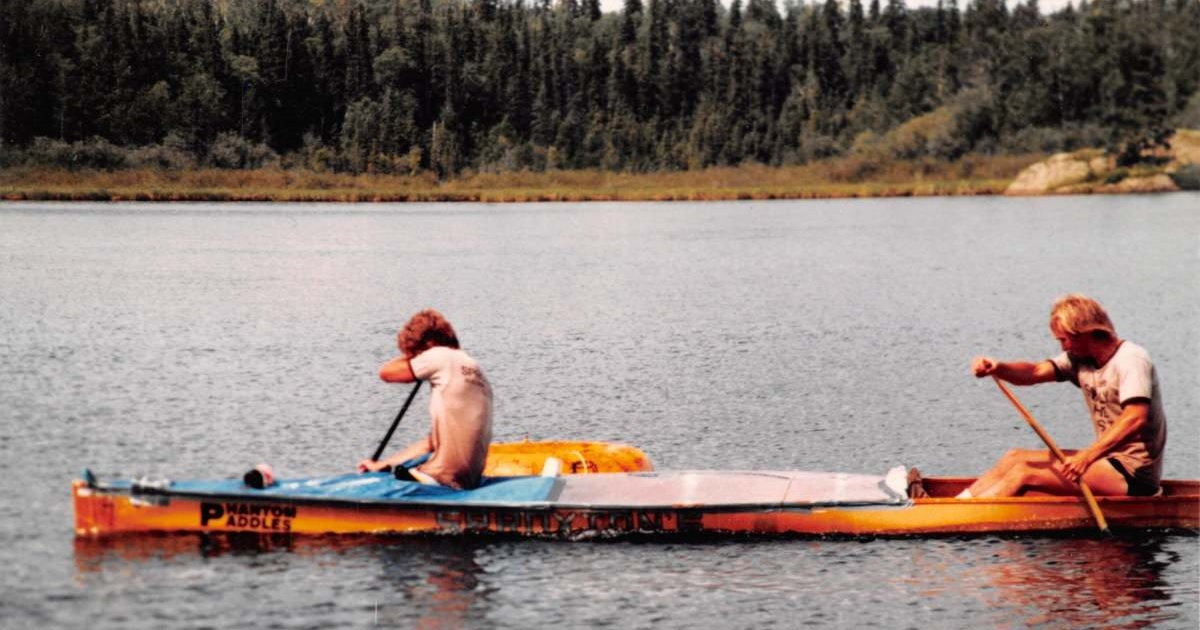 Snow Lake Canoe Race