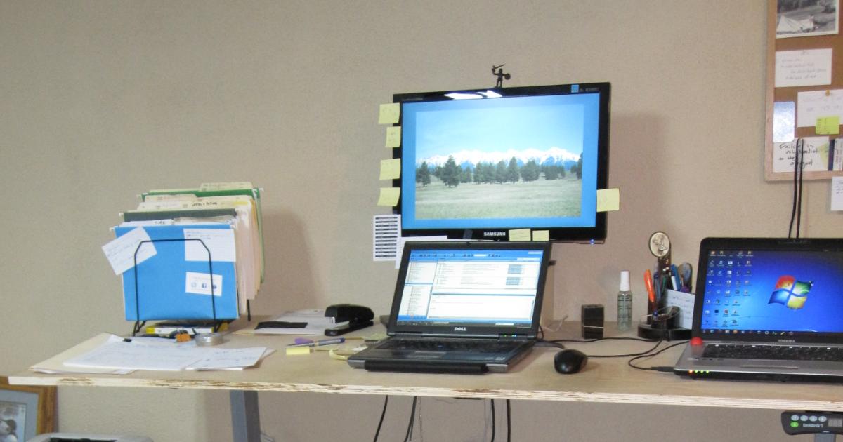 Geekdesk original setup