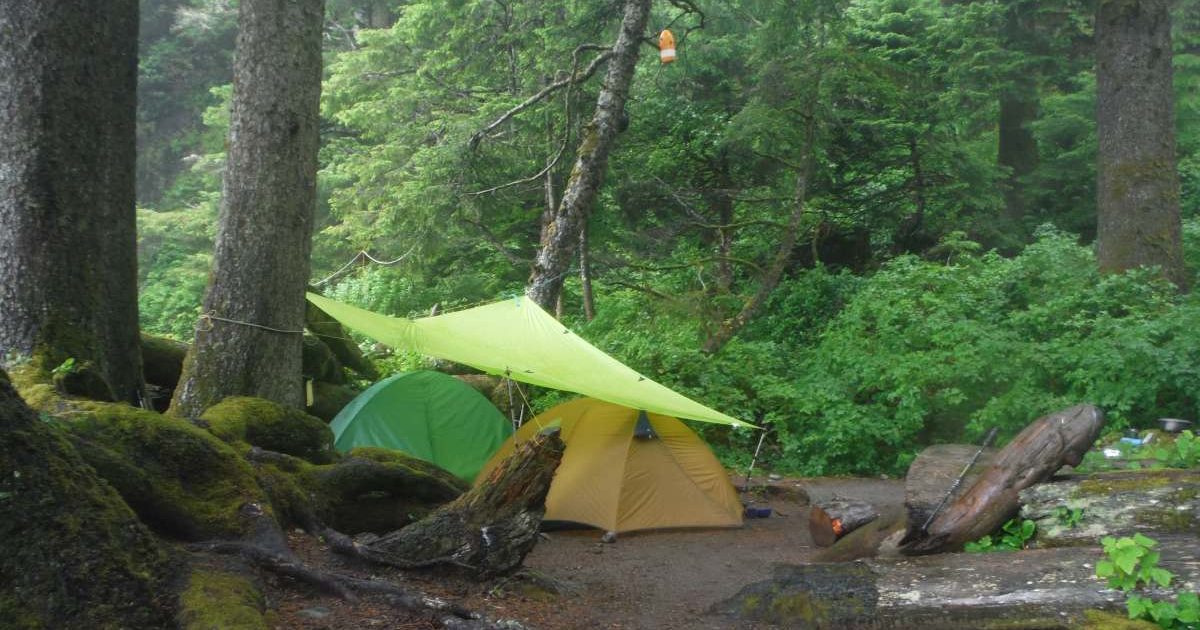 west coast trail camping