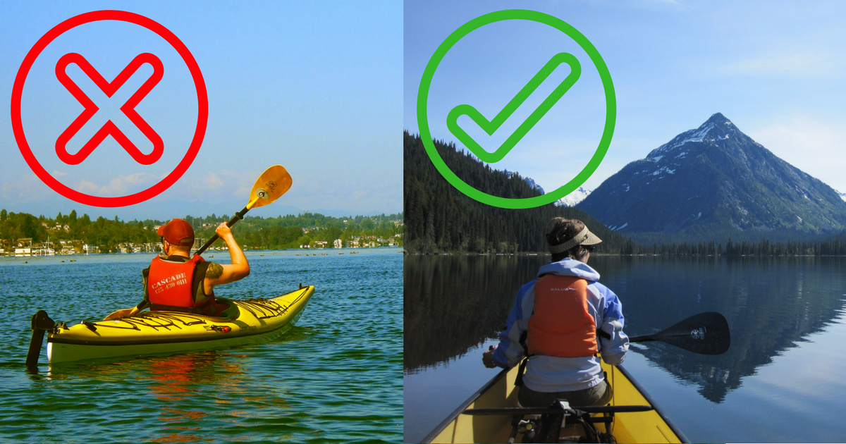 Canoeing vs Kayaking