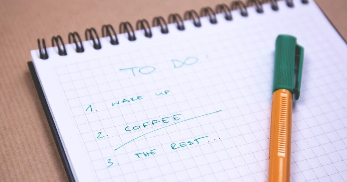 The purpose of to do lists