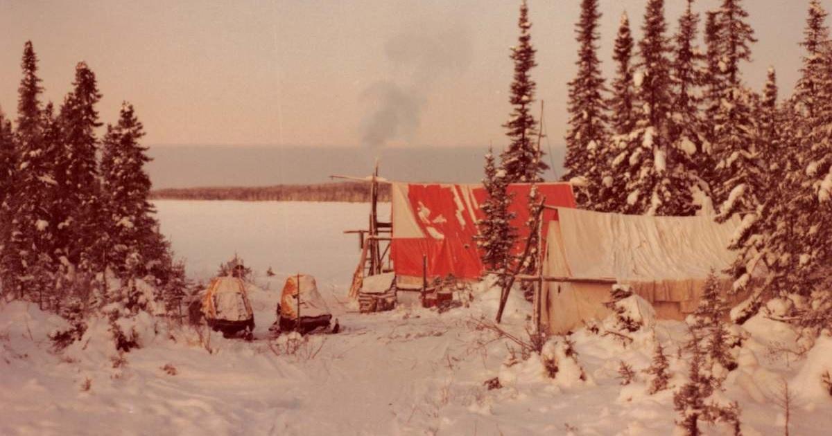 Foster Lake near Lynn Lake Manitoba